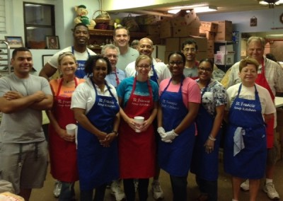 NNOA Jacksonville Chapter Volunteers at the St. Francis Soup Kitchen