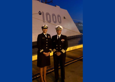 NNOA Attends the USS Zumwalt Commissioning