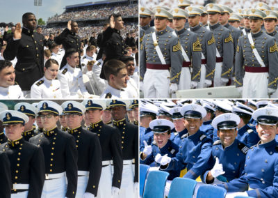 Here's how the military academies are creating a diverse officer corps.