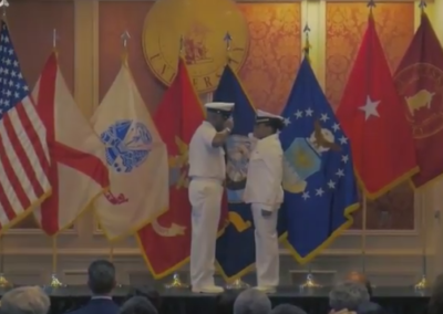 May Commissioning Ceremony for Tuskegee University's NROTC Unit