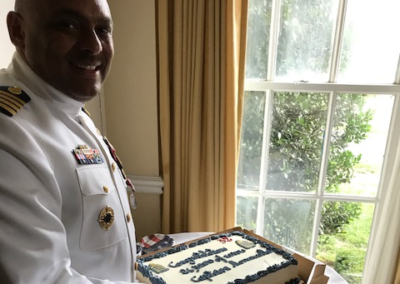 Coast Guard Bids Farewell to NNOA Member After Nearly 30 Years of Military Service