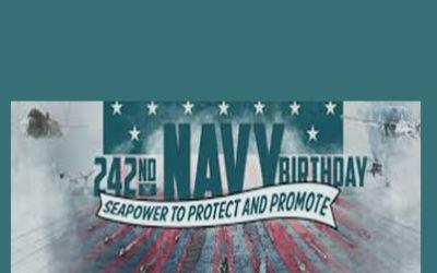 242nd NAVY Birthday