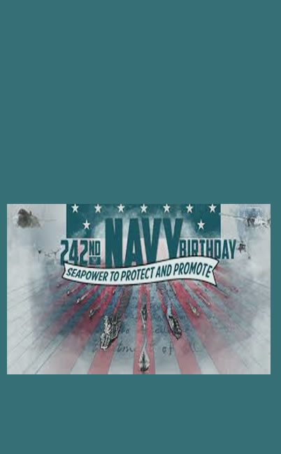 242nd NAVY Birthday