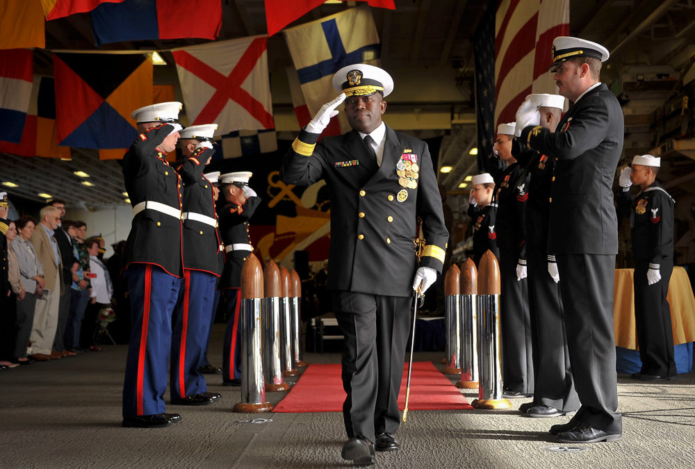 Rear Adm. Cedric E. Pringle Takes Command of Expeditionary Strike Group 3