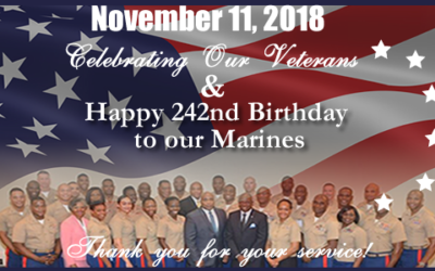 Happy Birthday Marines and Happy Veterans Day