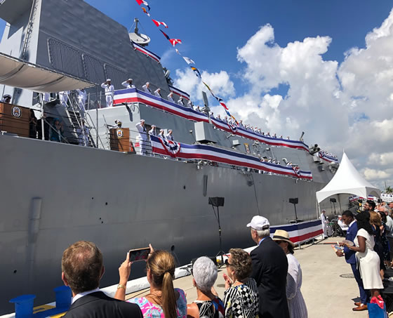 Commissioning of USS Paul Ignatius