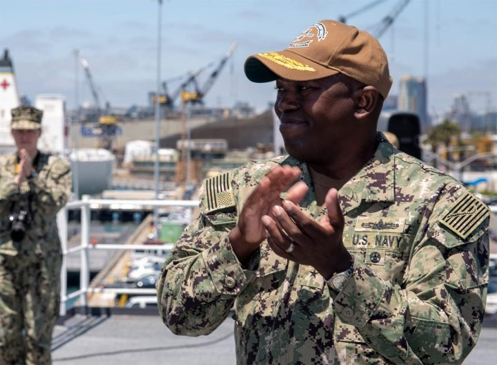 Interview with Rear Admiral Cedric Pringle