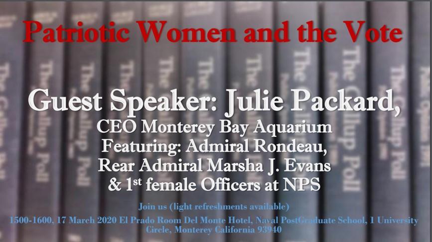 Women's History Month 2020 – Monterey Chapter Celebration