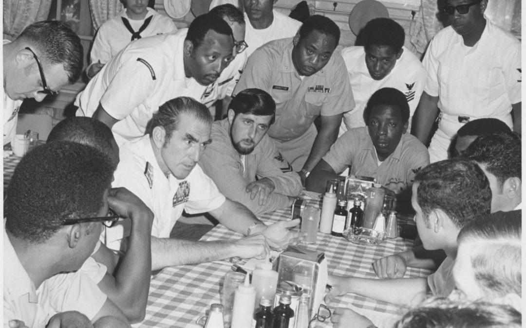 The Burden of a Black Naval Officer