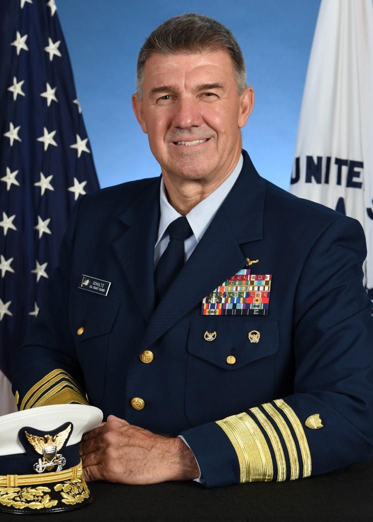 ADMIRAL Karl Schultz, USCG