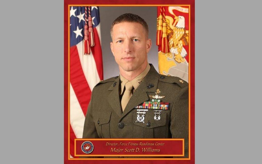 JO IN THE SPOTLIGHT – Major Scott Williams, USMC