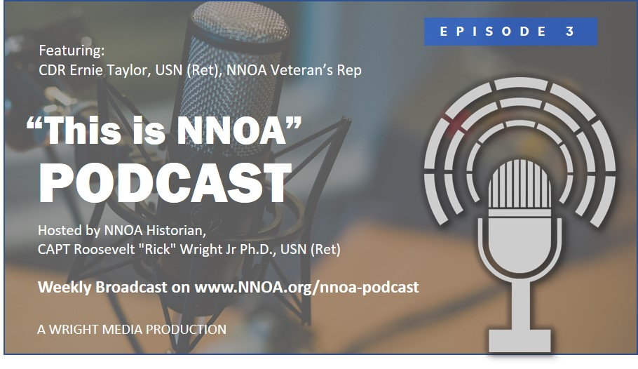 Podcast Episode 3: CDR Ernie Taylor, USN (Ret)