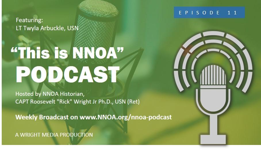 Podcast Episode 11: LT Twyla Arbuckle, USN