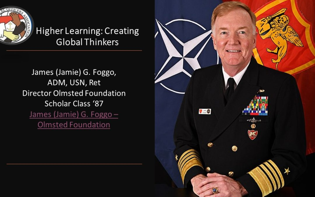 Olmstead Project Webinar – Higher Learning: Creating Global Thinkers