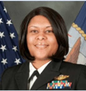 LCDR Nicole Cuthbertson USN