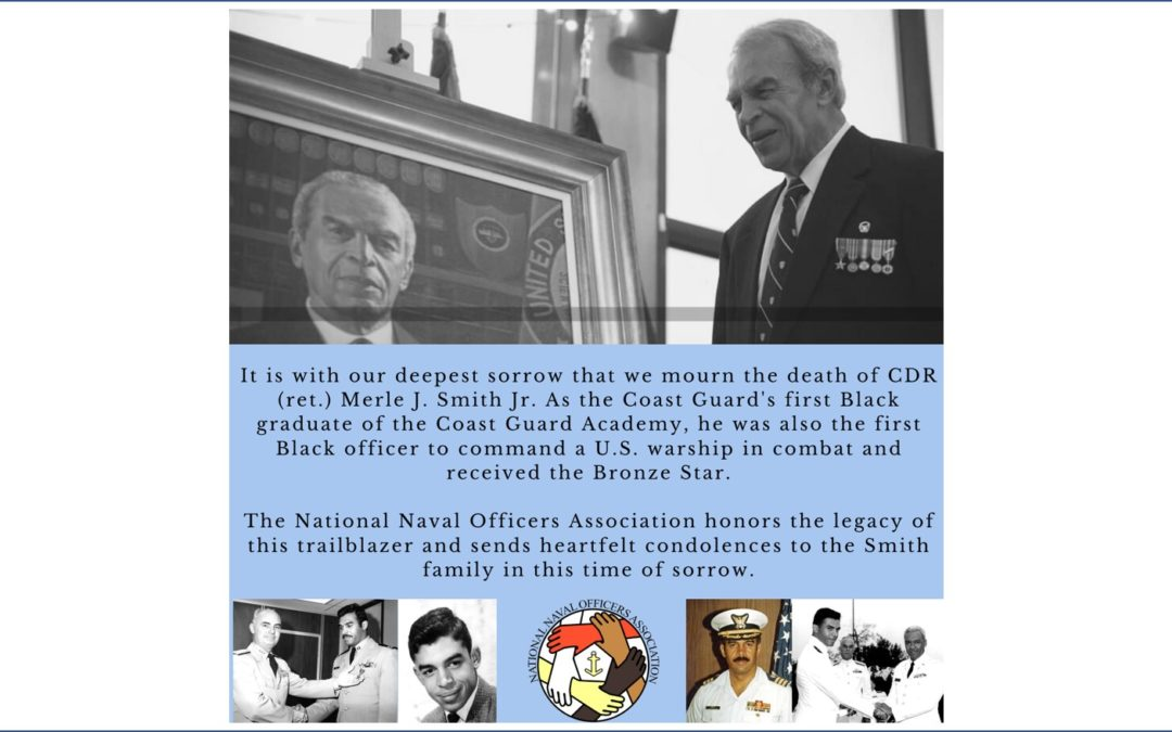 Farewell CDR Smith, USN (Ret.)
